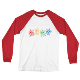 Turtles Long Sleeve Baseball T-Shirt
