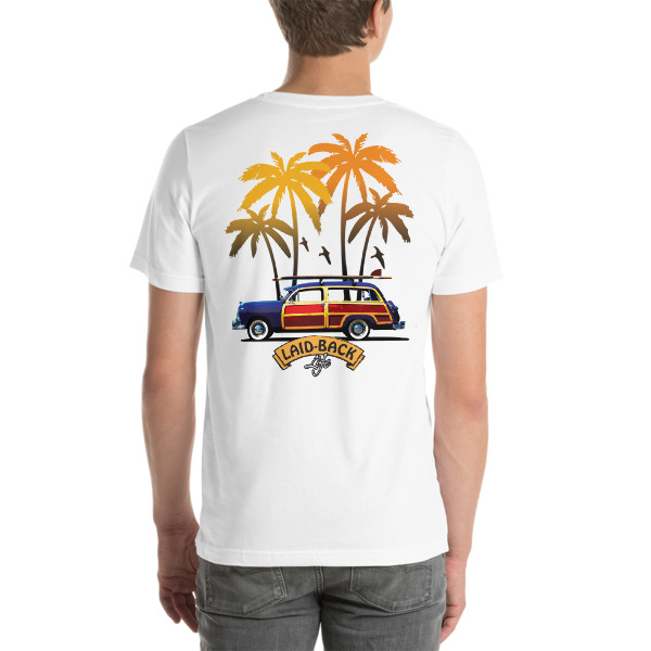 Woody and Palms Laid-Back T-Shirt