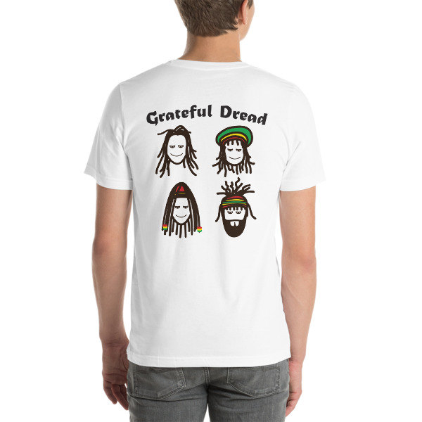 Grateful Dread Color T-Shirt