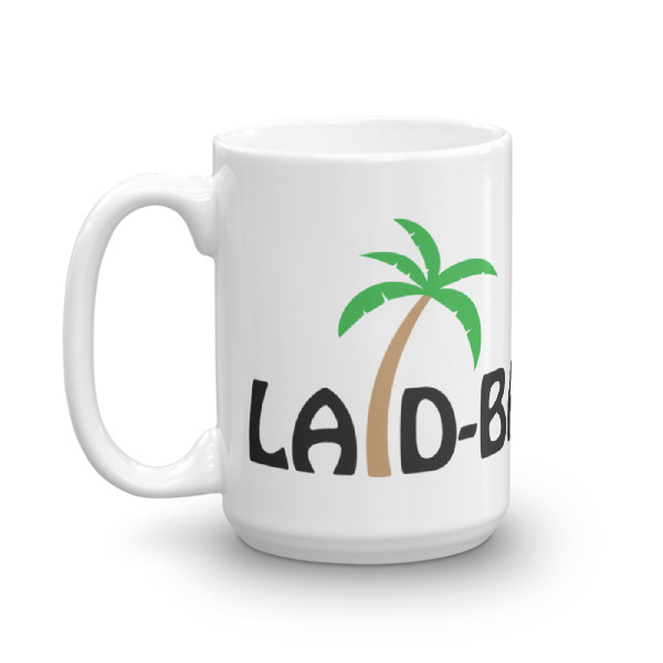 Laid-Back Life Logo Coffee Mug