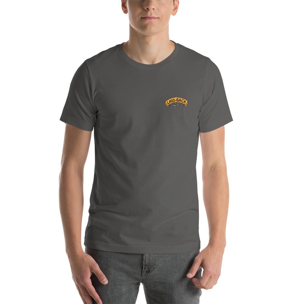 Michael Okko Custom Design Mushroom T Shirt Laid Backlife