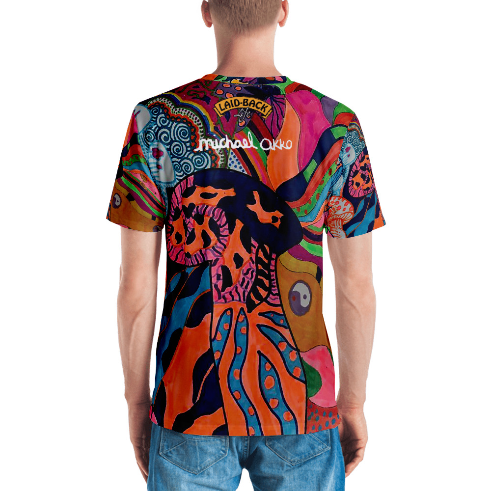 Michael Okko Custom Design Mushroom All-Over Print