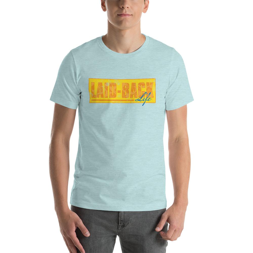 Laid-Back Distressed Short-Sleeve T-Shirt