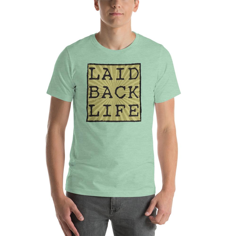 Square Laid Back Short-Sleeve Unisex T-Shirt