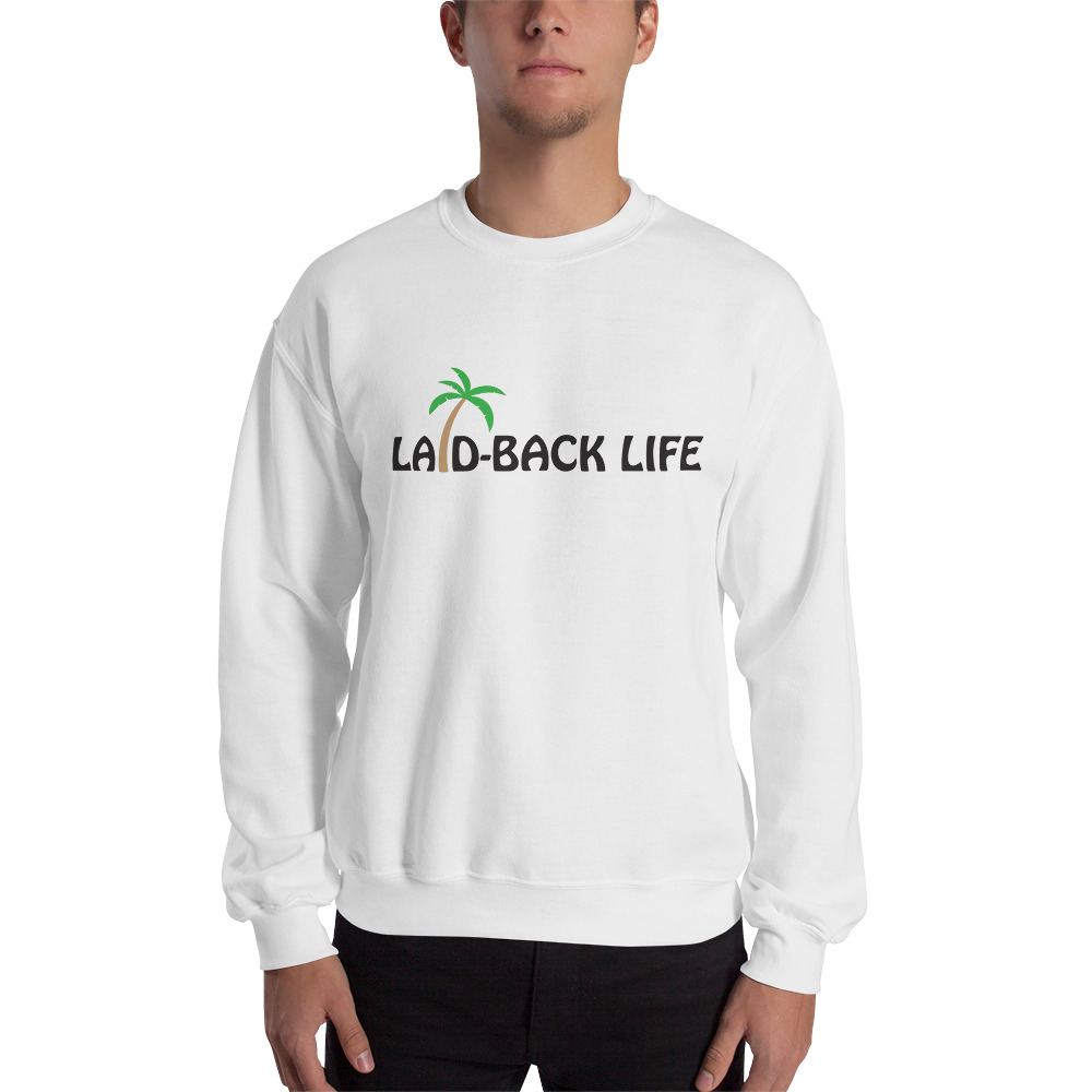 Laid Back Palm Logo Sweatshirt